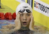 شناگر زن چینی