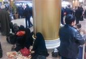 اعتراض مسافران به شرکتهای هواپیمایی فرودگاه مشهد/ باز هم مردم خسارت بیتدبیری مسئولان را دادند