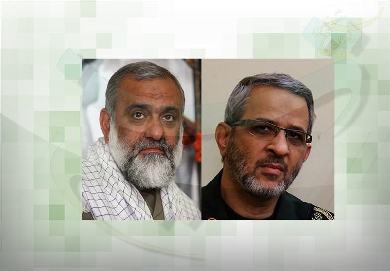 مراسم معارفه رئیس جدید سازمان بسیج و تودیع سردار نقدی برگزار شد