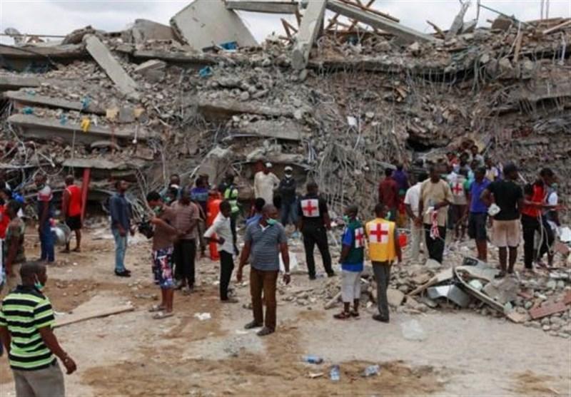 ریزش سقف کلیسا در نیجریه