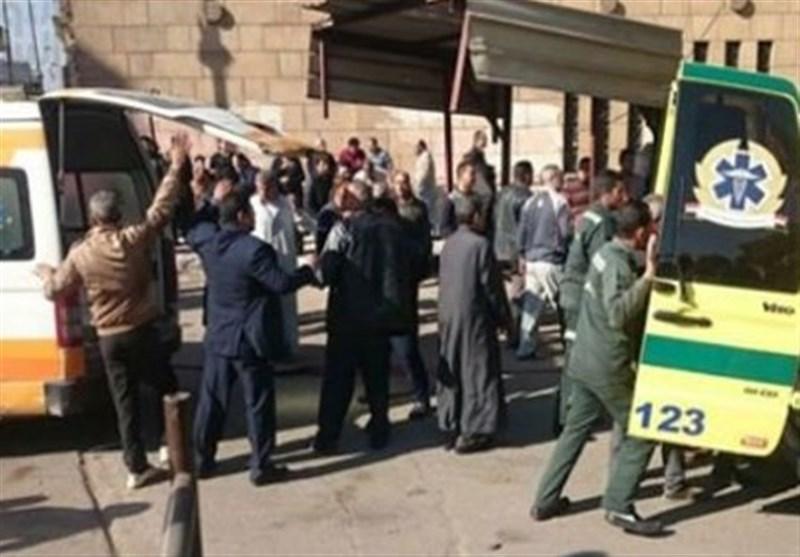 التلفزیون المصری: ارتفاع حصیلة قتلى تفجیر الکاتدرائیة إلى 20 قتیلا