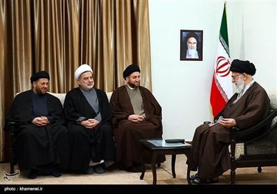 National Iraqi Alliance's Members Meet Ayatollah Khamenei