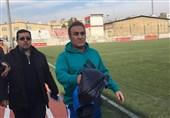 کاظمی: اگر در لیگ نمانیم از فوتبال خداحافظی میکنم/ از داوریها لطمه خوردیم