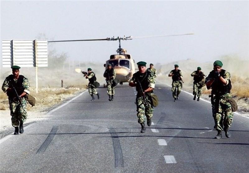 فرقة خاصة تنفذ عملیات محاربة للارهاب وعملیة انزال فی سواحل مکران