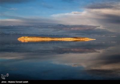 جفاف بحیرة ارومیة فی ایران