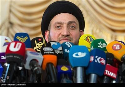 المؤتمر الصحفی للسید عمار الحکیم فی طهران