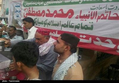 کراچی؛ عید میلاد النبی اور ہفتہ وحدت مسلمین کے اجتماعات میں سنی شیعہ اتحاد کا عملی مظاہرہ