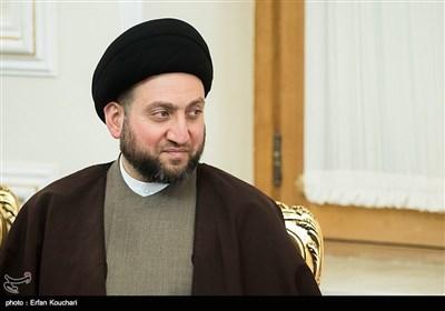 تماس تلفنی سید عمار حکیم با ظریف