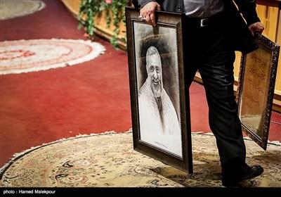 مراسم التودیع والترحیب للرئیسین القدیم والجدید لمنظمة تعبئة المستضعفین
