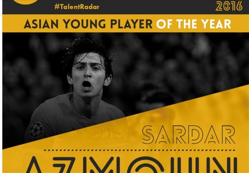 Asian Young Player of the Year 2016: Sardar Azmoun