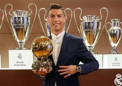 رونالدو، چهارمین توپ طلایش را گرفت