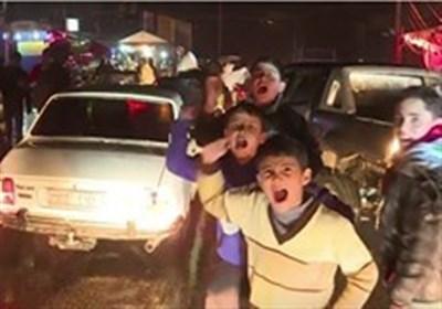 جانب من احتفالات أهالی حلب بتحریر مدینتهم