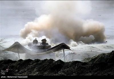 """ایرانی افواج کی """"محمد رسول اللہ"""" نامی جنگی مشقوں کی تصویری جھلکیاں"""