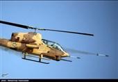 شلیک راکت از بالگردهای ارتش و سپاه + عکس