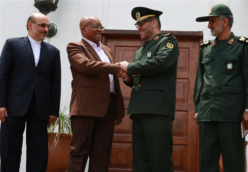 Iran's DM, South Africa's Chief of Staff Discuss Expansion of Military Ties