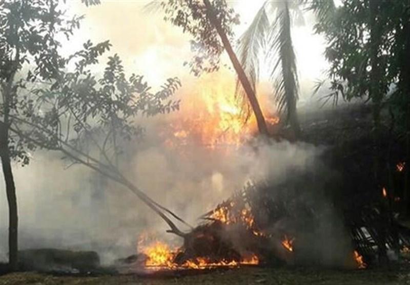 میانمار مسلمانوں کو بودائیوں نے بے دردی سے جلا دیا