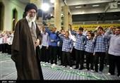 مراسم جشن تکلیف دانش آموزان در حضور رهبرمعظم انقلاب