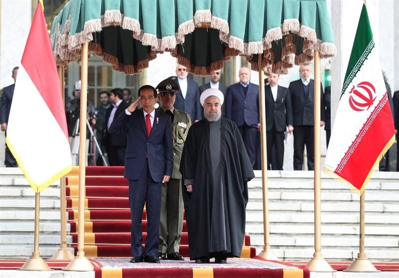 روحانی رئیس جمهور اندونزی