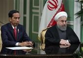 روحانی و رئیسجمهور اندونزی