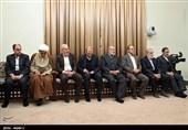 دیدار رمضان عبدالله با مقام معظم رهبری