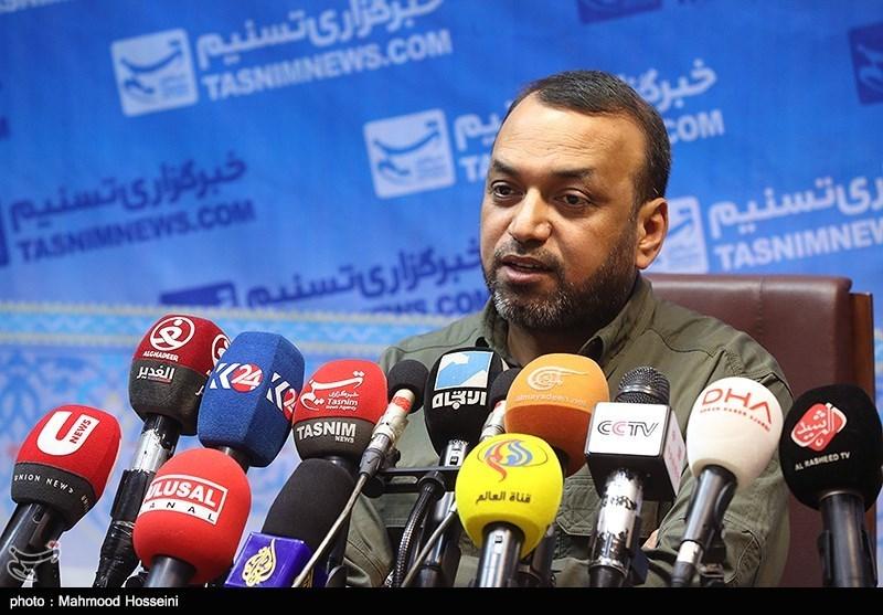 نشست خبری احمد الاسدی سخنگوی حشد شعبی عراق در خبرگزاری تسنیم