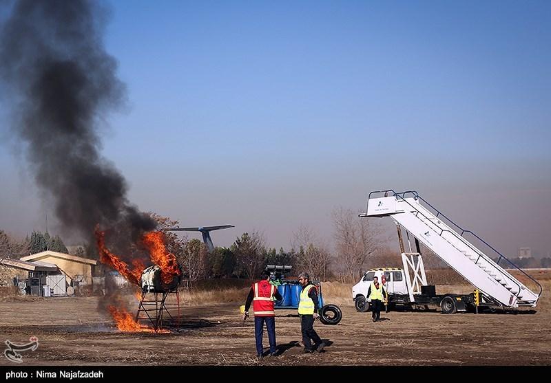 مانور کامل دوسالانه طرح اضطراری فرودگاه اردبیل برگزار میشود
