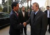لاریجانی: إیران تبذل قصارى جهدها فی سبیل حل أزمات المنطقة