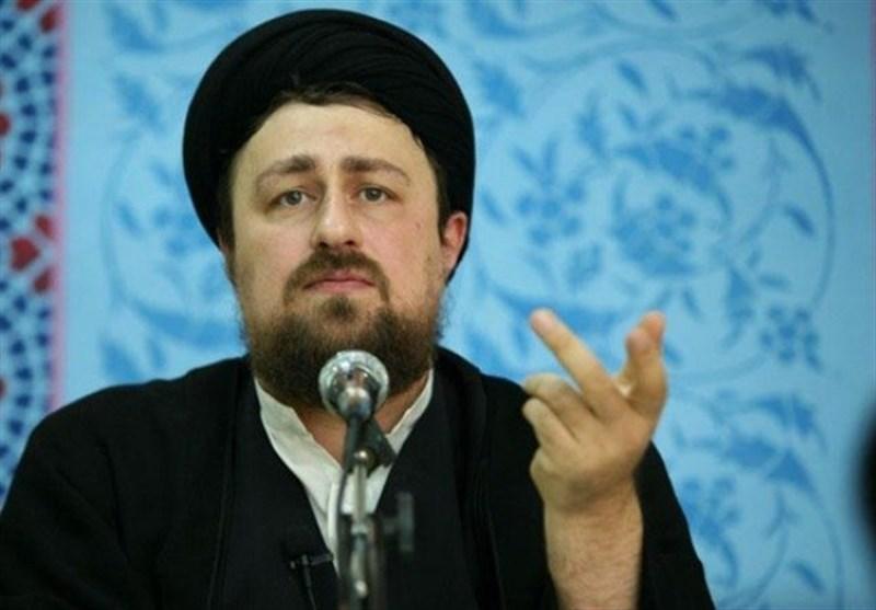 حجت الاسلام حسنخمینی: وجود رهبر انقلاب امروز بیش از هر زمان دیگر مغتنم است