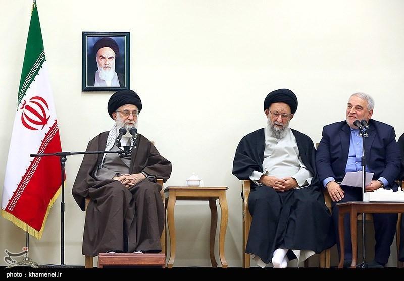 دیدار اعضای ستاد بزرگداشت چهارهزار شهید استان گلستان یا مقام معظم رهبری