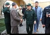 بازدید سرلشگر باقری از نمایشگاه اقتدار سپاه در عرصه سازندگی