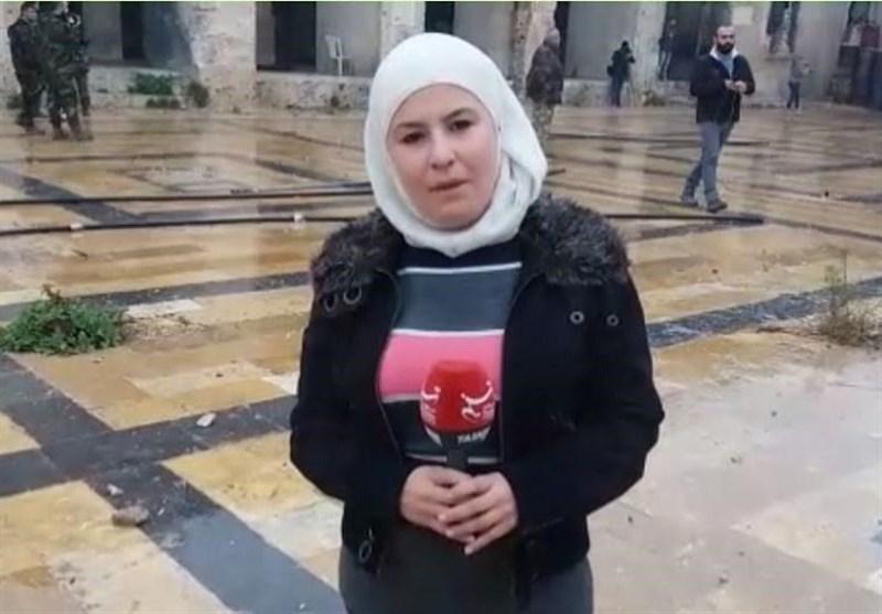 خبرنگار تسنیم حلب