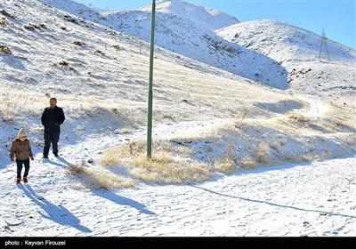 الثلوج فی محافظة کردستان الایرانیة