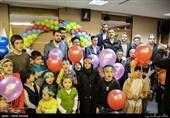 مراسم جشن تولد فرزندان شهدای فاطمیون و زینبیوند