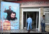 سالگرد شهدایتفحص و تولد شهید مدافع حرم در گلزار شهدای تهران