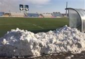 ورزشگاه شهید سلیمانی آماده دیدار ماشینسازی - نفت مسجدسلیمان