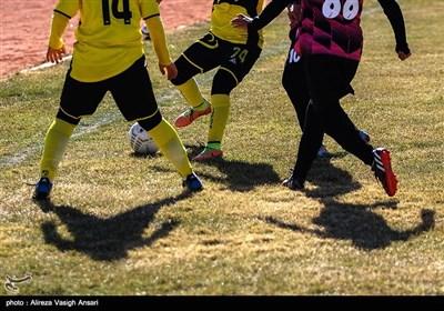 آخرین تمرین تیم ملی فوتبال دختران جهت اعزام به تورنمنت هنگ کنگ