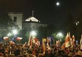 تظاهرات لهستان