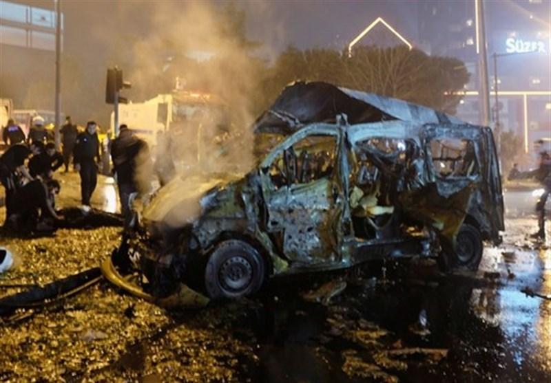 ترک پولیس بس پر دھماکہ، 3 اہلکار ہلاک