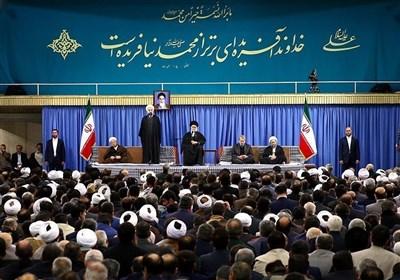 دیدار رهبر انقلاب با سفرای کشورهای اسلامی