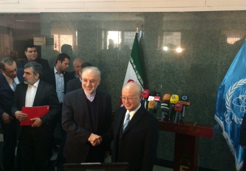 Iran's Salehi, IAEA's Amano Discuss Nuclear Propulsion ...