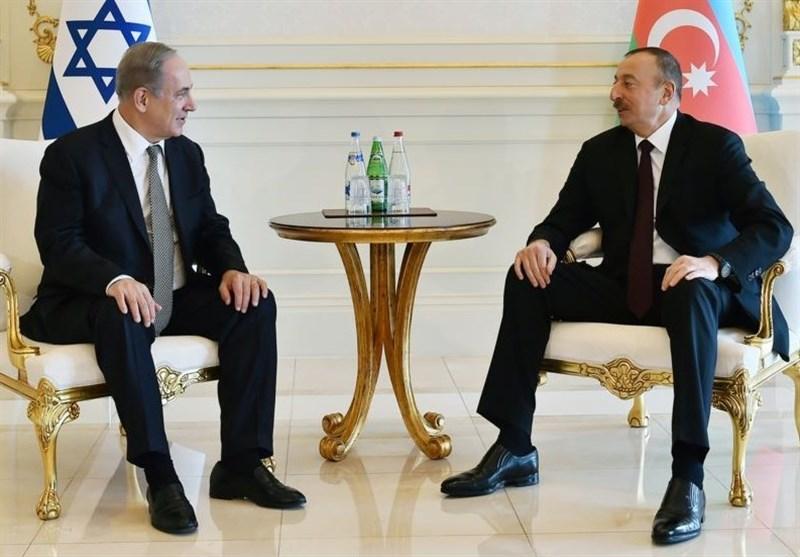 اسرائیل آذربایجان نتانیاهو علی اف