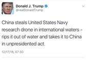 چرا پیام توییتری دونالد ترامپ، خطرناک تر از اقدام چین برای توقیف شناور آمریکایی است؟