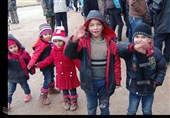 Buses Carrying Evacuees from Kefraya, Foua Arrive in Syria's Aleppo