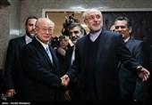 دیدار و کنفرانس خبری مشترک یوکیا آمانو و علیاکبر صالحی