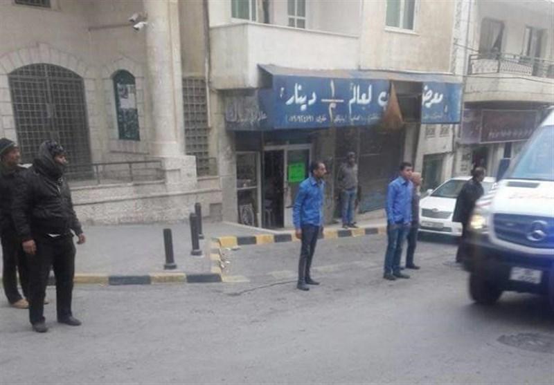 اشتباکات عنیفة فی الکرک جنوب الأردن+صور