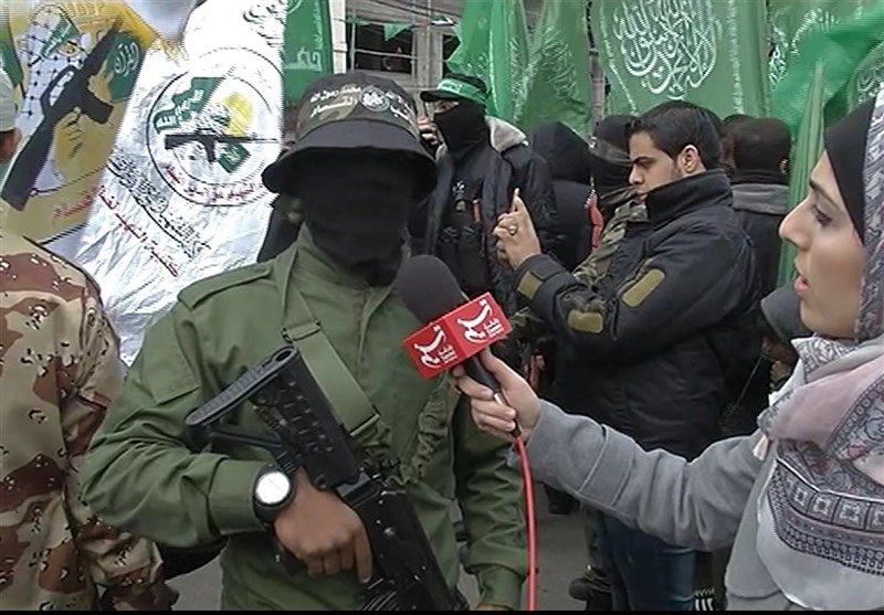 بالفیدیو..استعراض حرکة حماس فی ذکرى انطلاقها الـ29