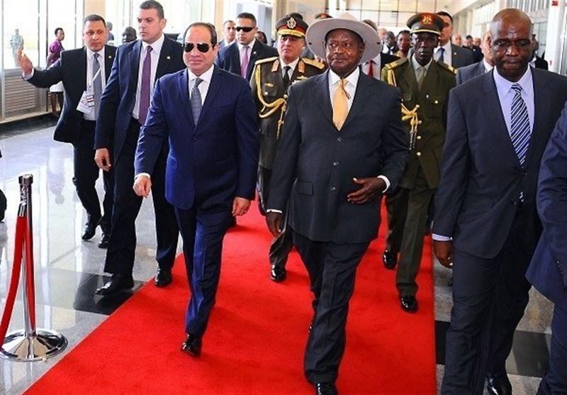 "السیسی یبحث فی أوغندا ربط ""فیکتوریا"" بـ""المتوسط"""