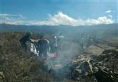 روسی فوجی طیارہ گر کر تباہ
