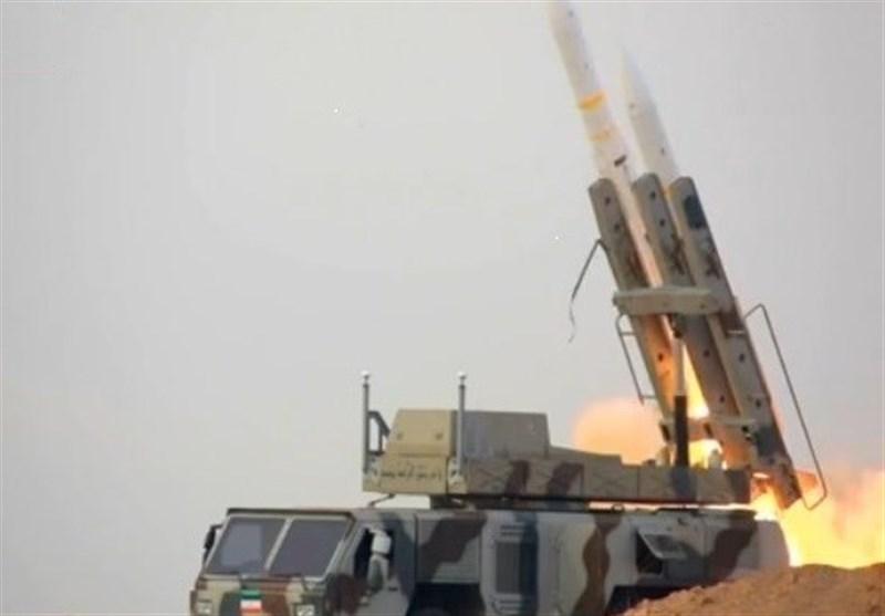 دمج منظومات صواریخ الجیش وحرس الثورة فی مناورة الدفاع الجوی