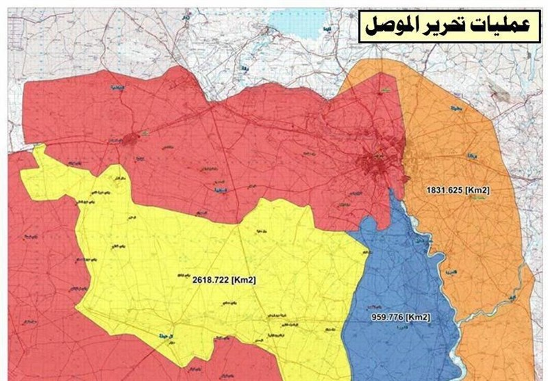 آزادسازی چندین محله دیگر در موصل و هلاکت 174 داعشی